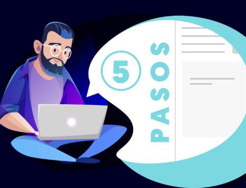 ¿Cómo realizar una factura electrónica en 5 pasos?