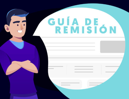 ¿Cómo realizar una guía de remisión?
