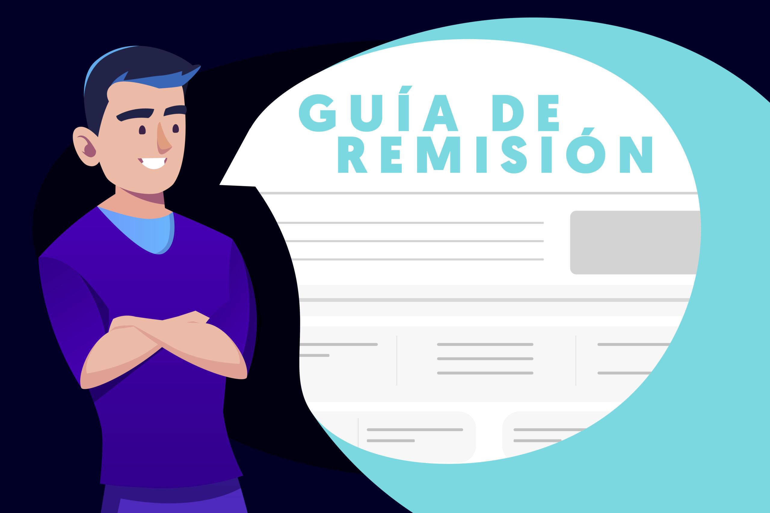 Como realizar una guía de remisión