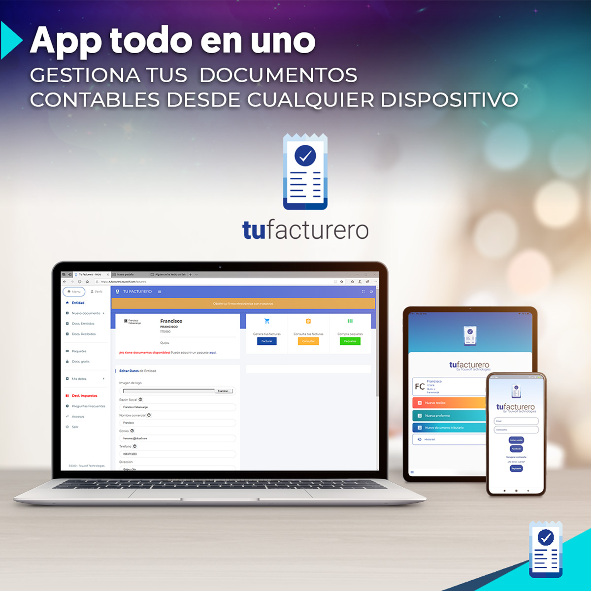 App multi-plataforma
