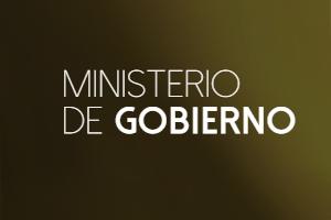 firma Ministerio de Gobierno
